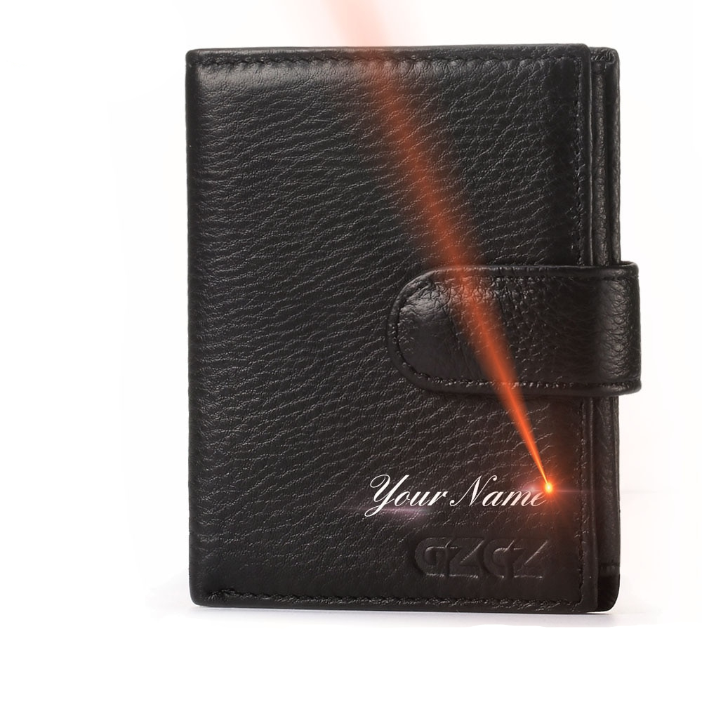 04a1920a194f7 Exquisite Personalized Durable Genuine Leather Men s Wallet